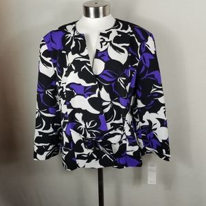 """Isabella suits black/multi size 18. Condition is """""""